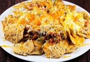 nachos, unhealthy