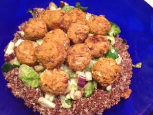 quinoa truffles
