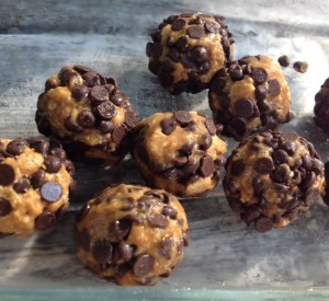 nut butter chocolate truffles