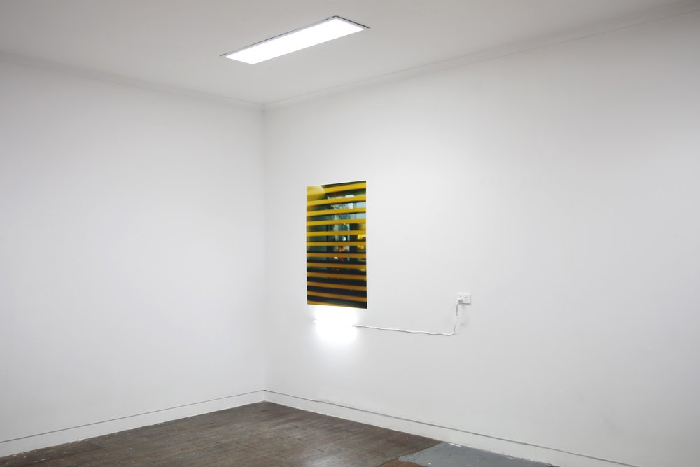 Window to Illumination series, install documentation, 2016