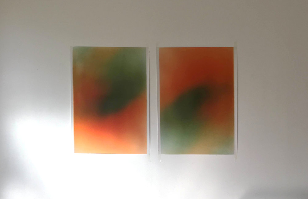 Untitled (Orange), 2014