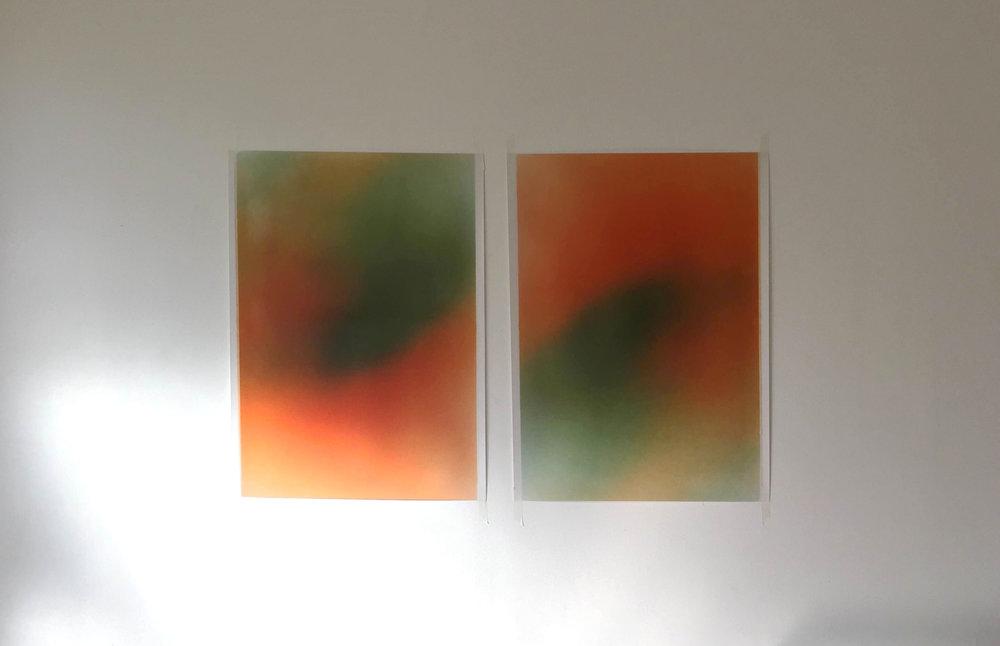 Untitled (Orange), 2014