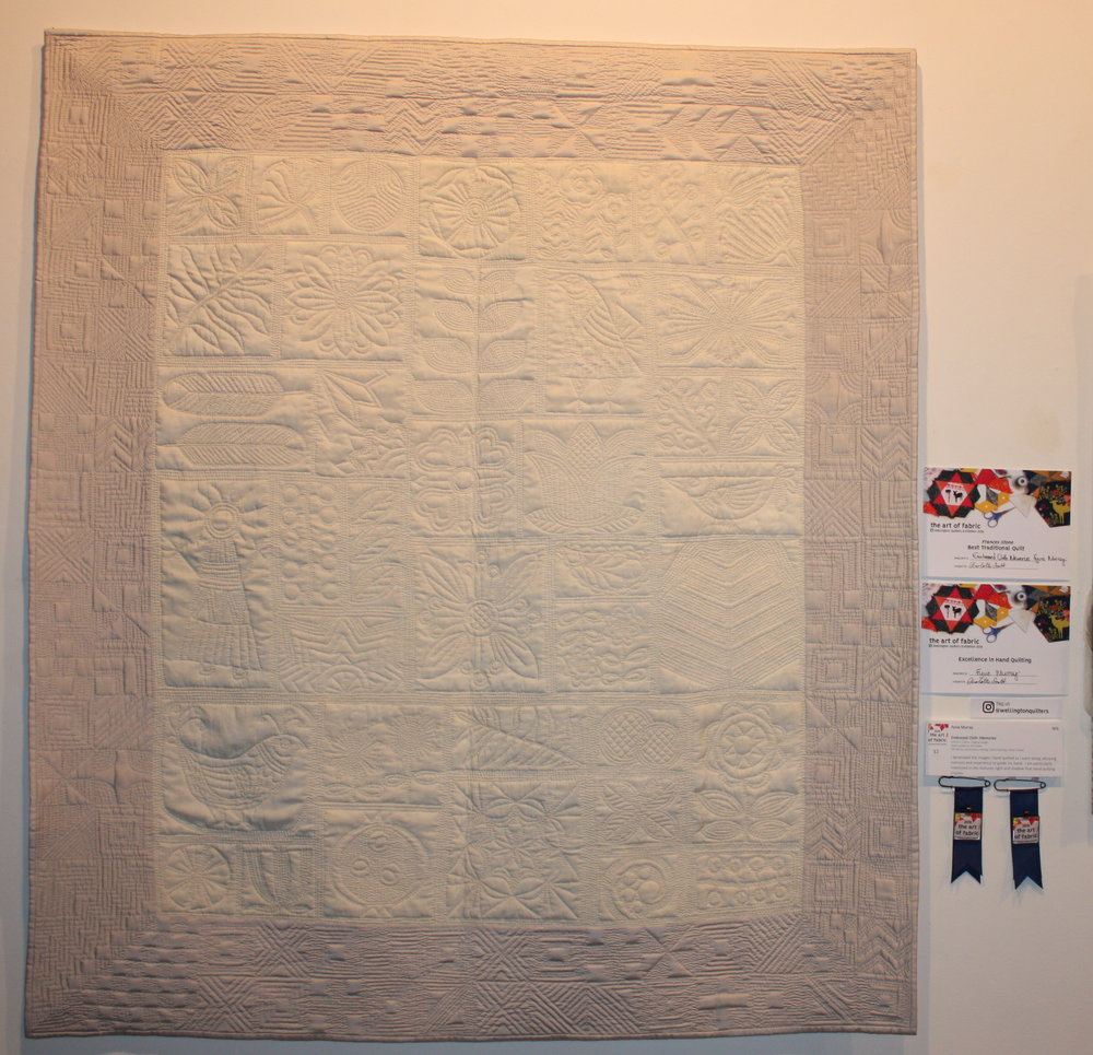 Frances Stone Best Traditional Quilt & Excellence Hand Quilting