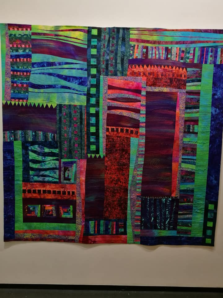 Merit Hand Quilting & Life Member Awards by Jane Dagger and Janet Forbes
