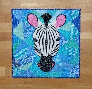 Zebra intermediate workshop - Solstice Stitchery 2018