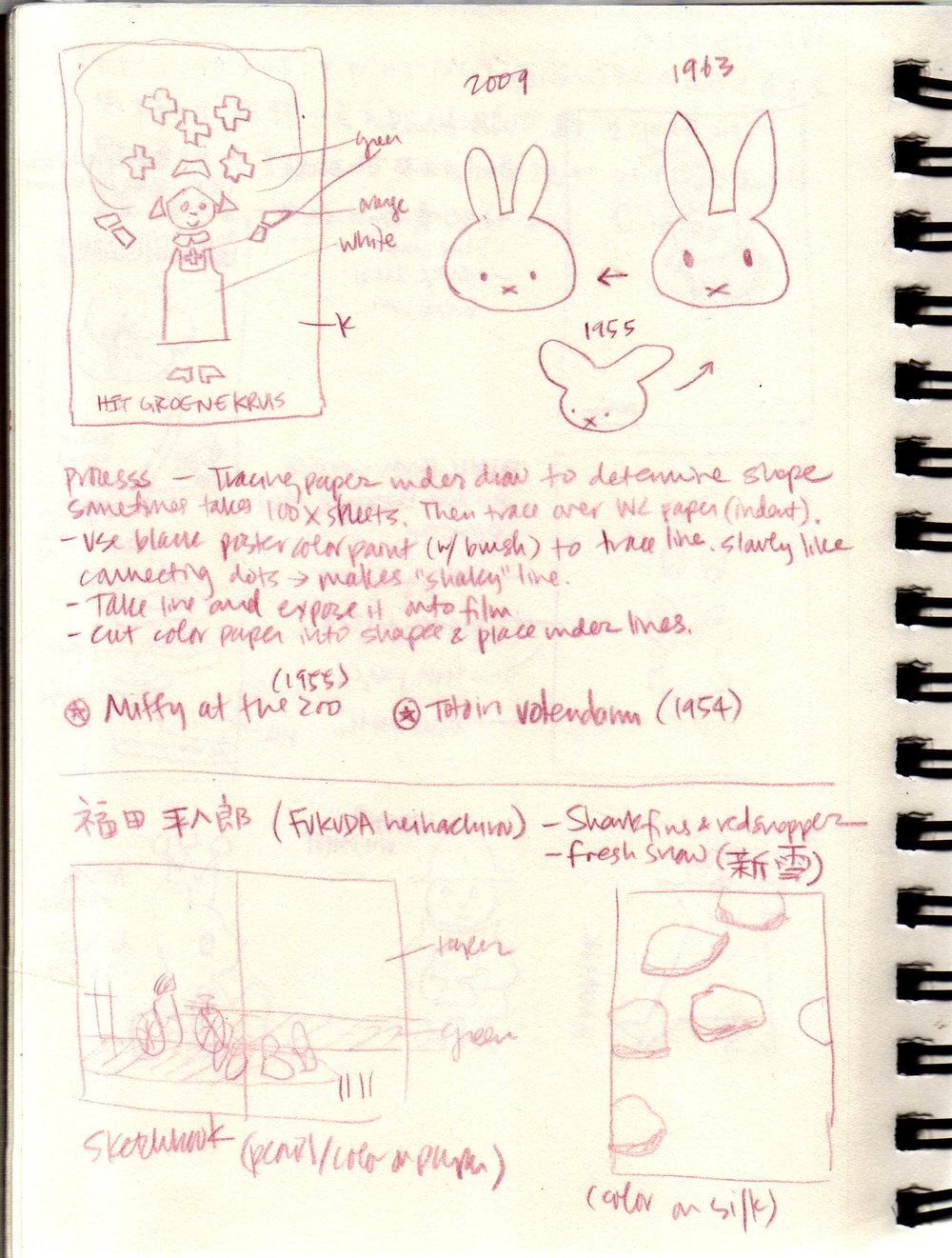 More Dick Bruna notes