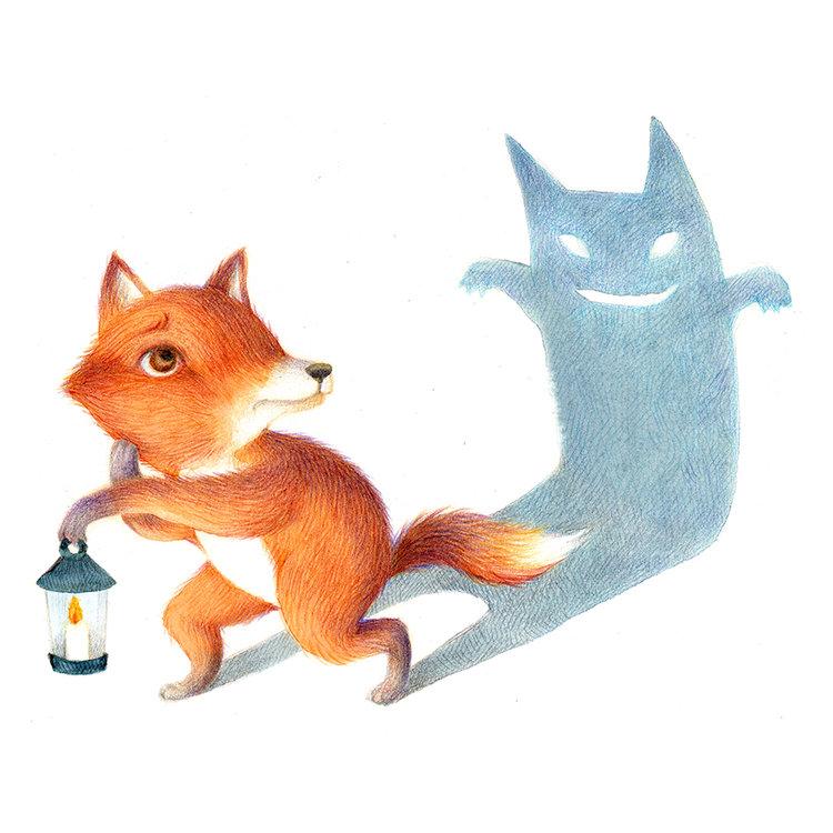Scaredy Fox
