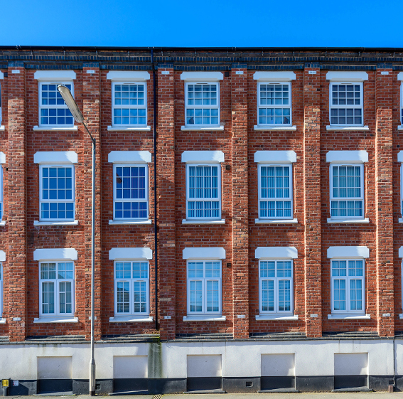 12-unit Victorian warehouse conversion, Stafford ST16