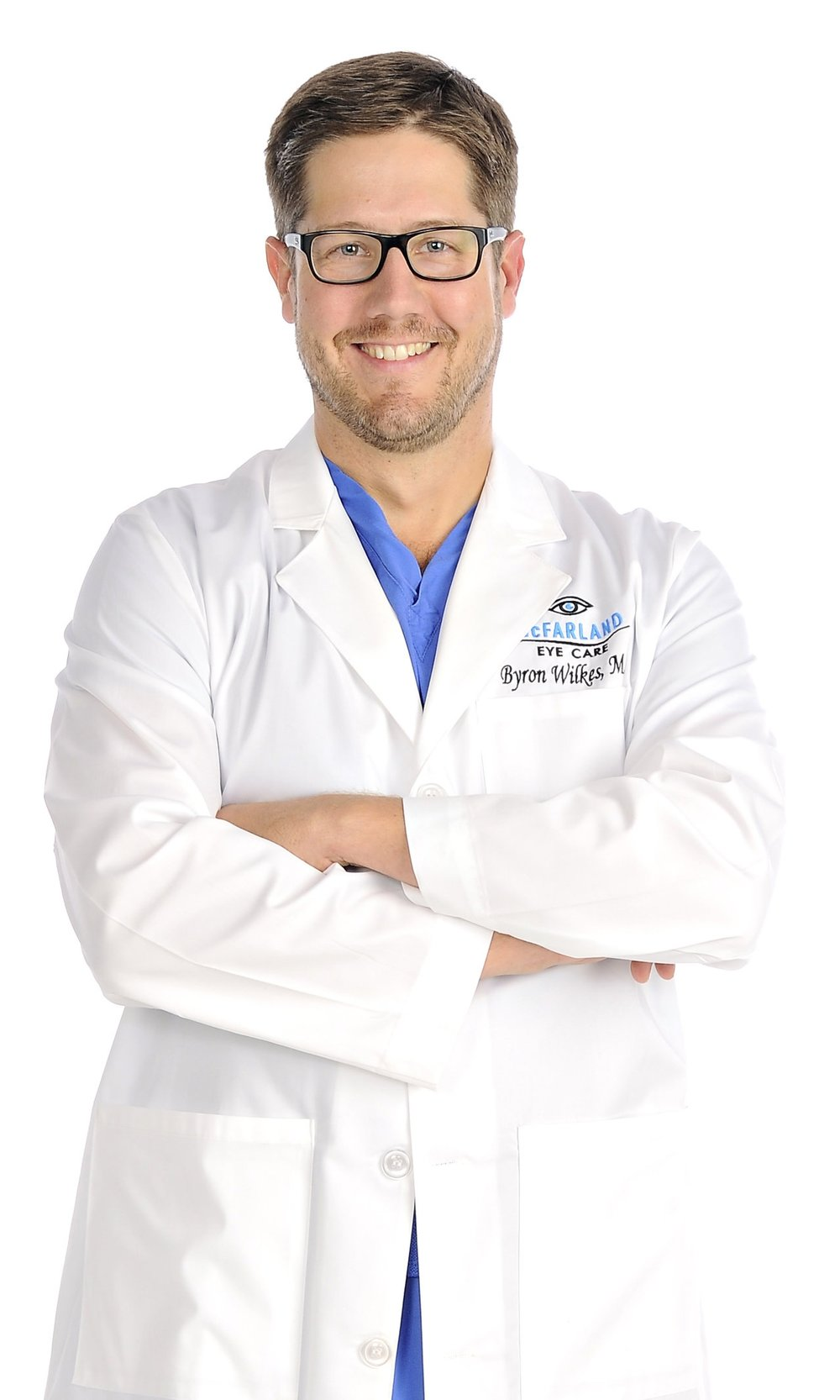 Dr. Byron Wilkes - McFarland Eye Care