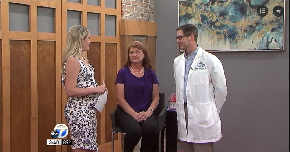 Click the photo to watch Dr. Byron Wilkes discuss Kybella on KATV's Good Afternoon Arkansas. -