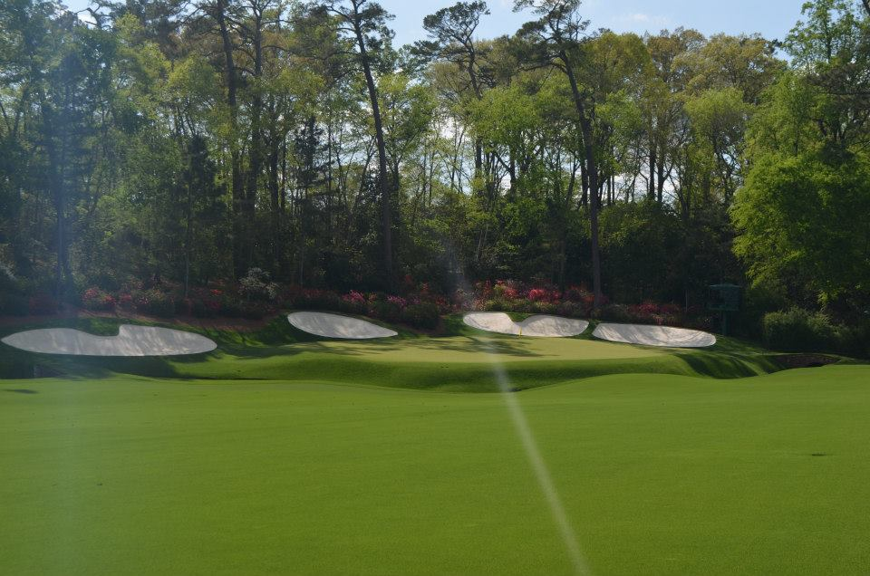 Hole 13 - Practice Round 2014 (photo: Kevin Russell)