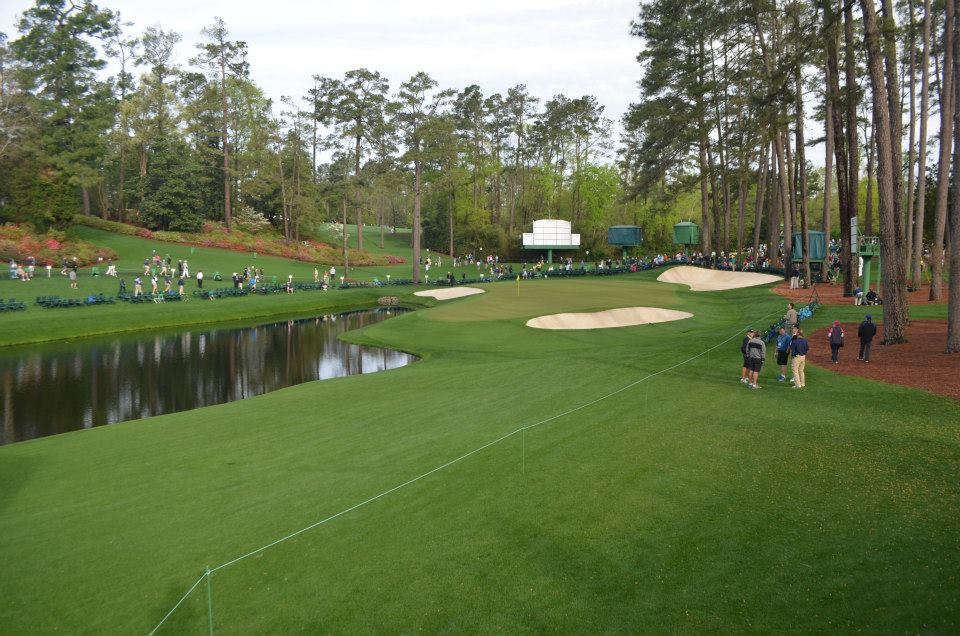 Hole 16 - Practice Round 2014 (photo: Kevin Russell)