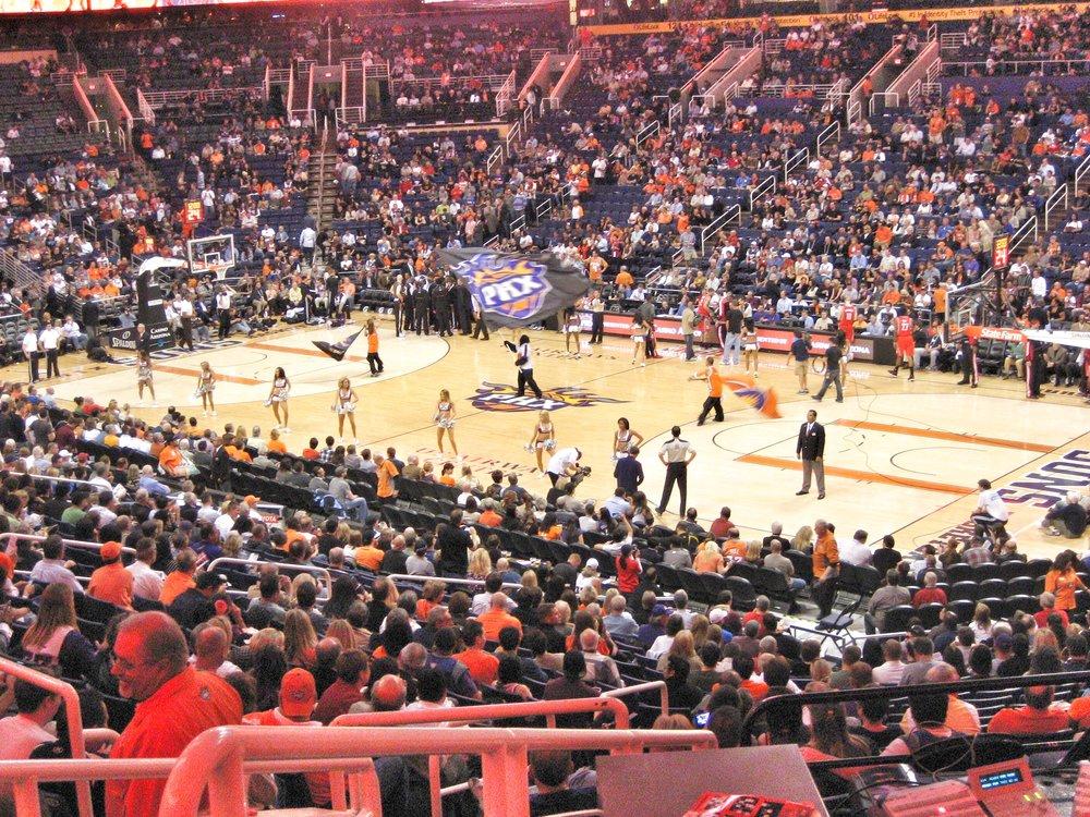 Suns vs. Rockets pregame