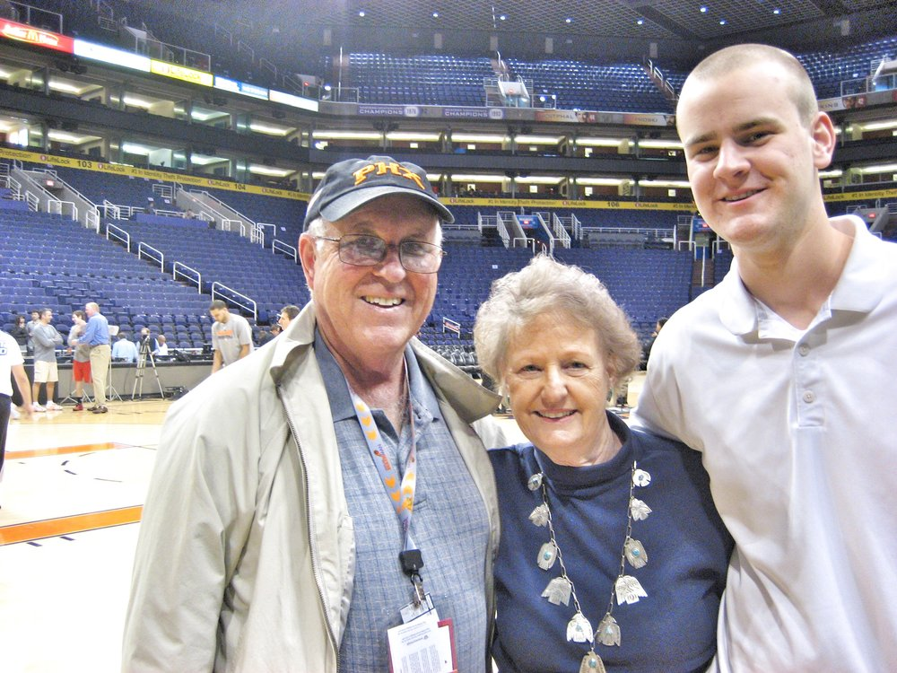 Game with the grandparents
