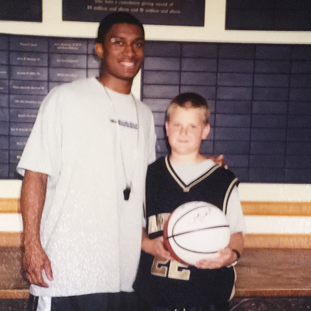 Justin Gray and me