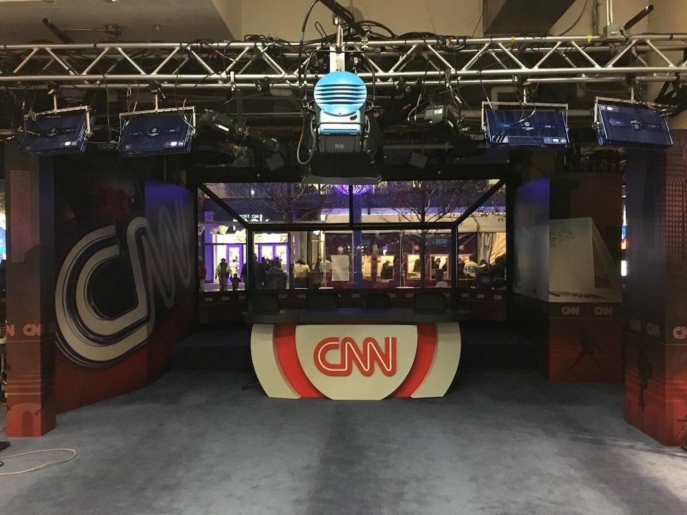 CNN set