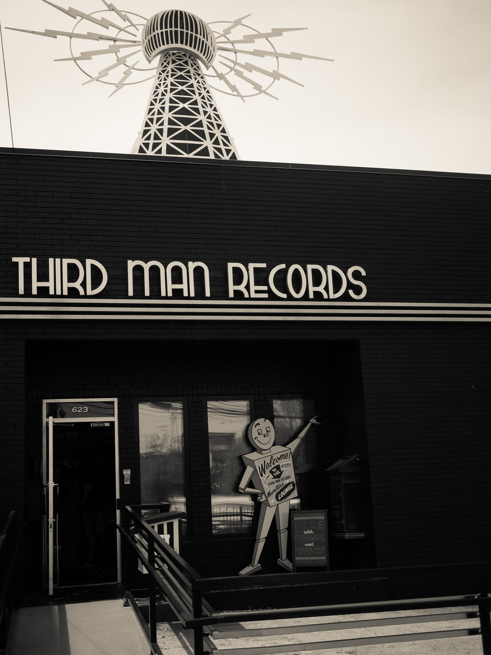 Third Man Records, Nashville Location