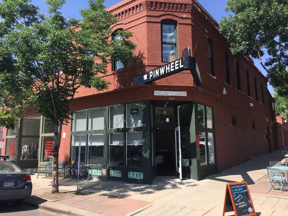 Pinwheel Coffee is a collaborative enterprise providing middle and high school students the tools they need to run a successful coffee shop business. -