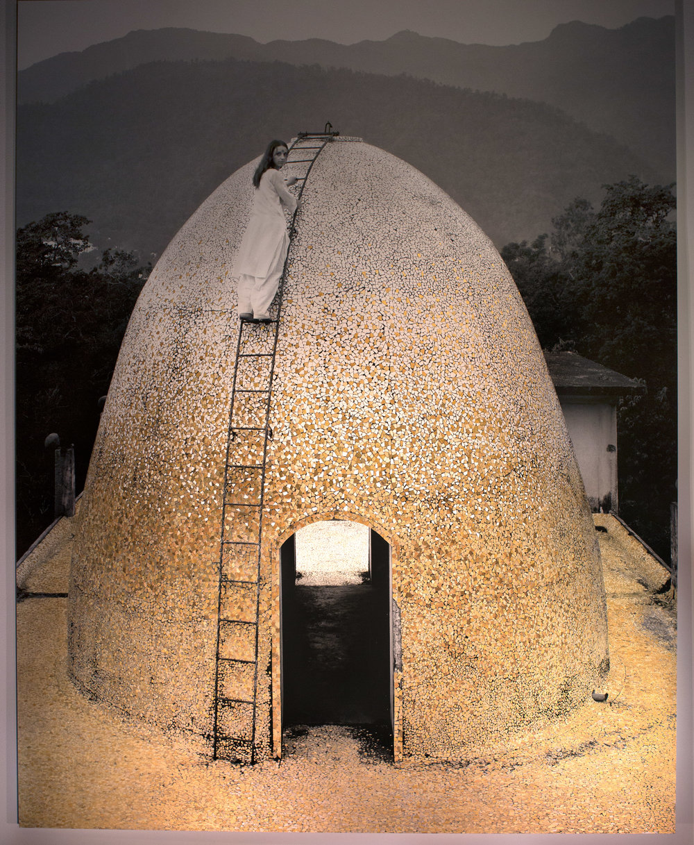 Dome, Rishikesh, India, 2015