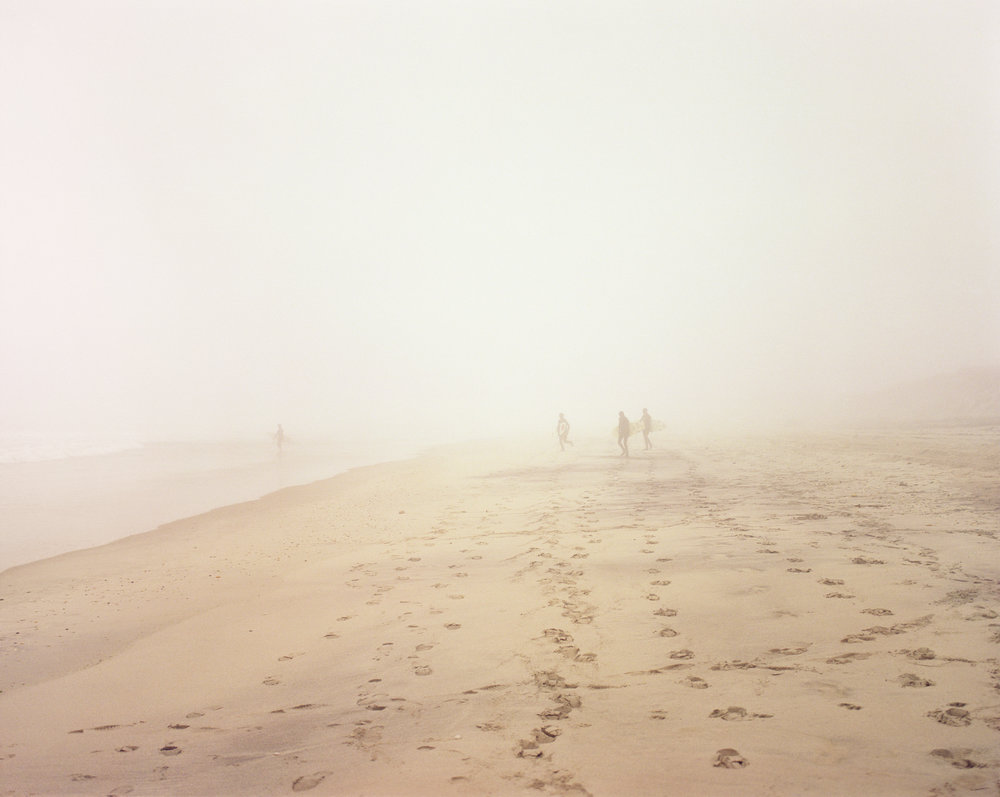 Surfers in Fog, 2009
