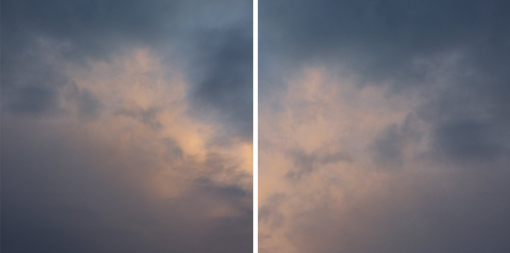Cloud Diptych