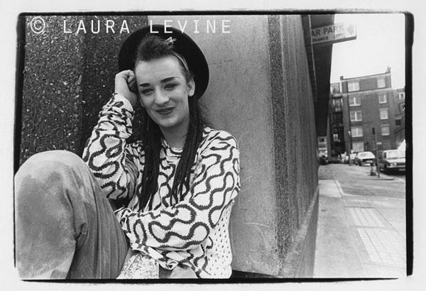 Boy George, London, 1982