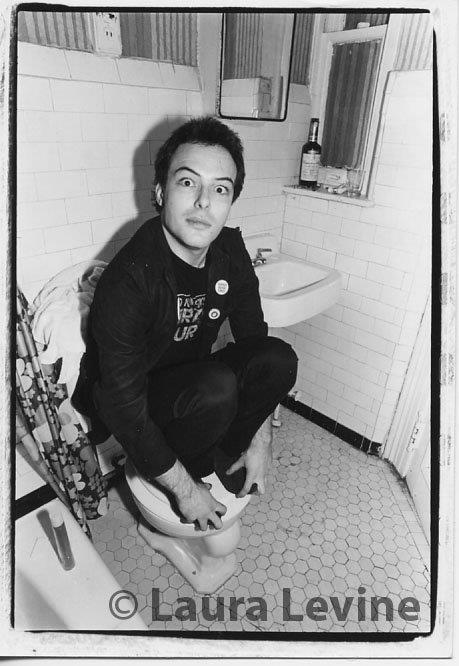 Jello Biafra, NYC, 1981
