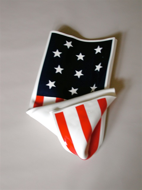 Folded Flag #1, 2002