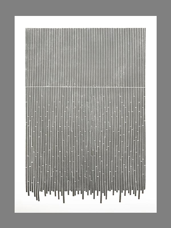 Disruption of Lines (Grey), 2017