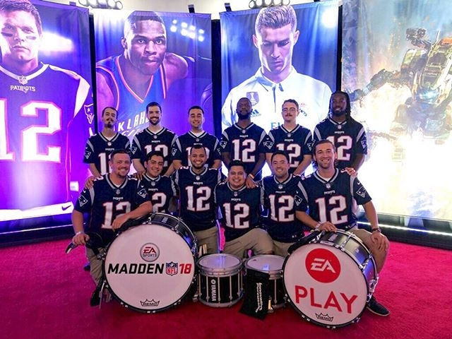 EA Drumline - EA Play 2017 in Los Angeles, CA