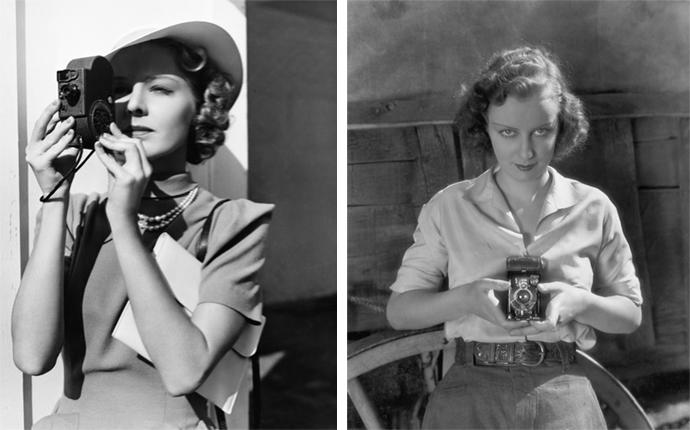 WWII era photography shot on 35mm film