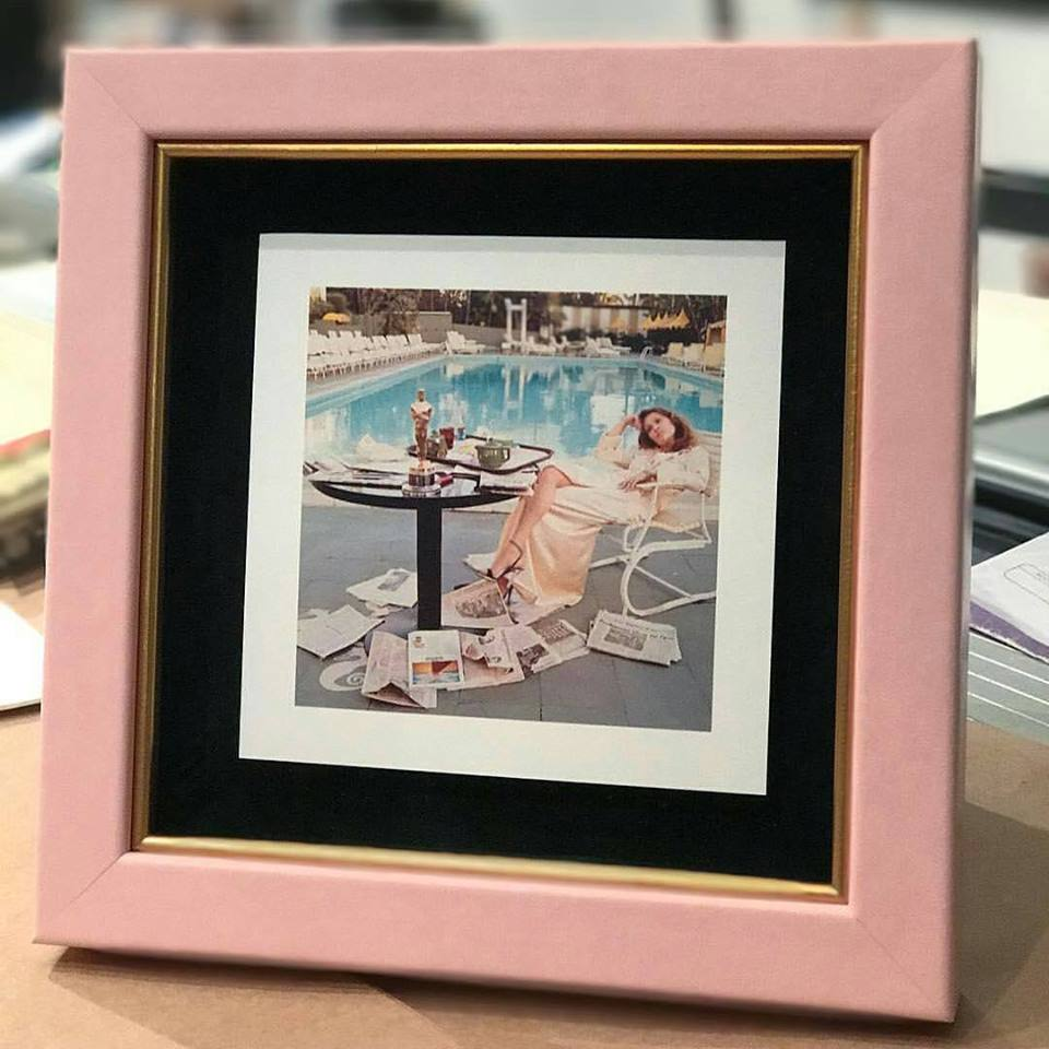 "Malecon ""Pink Flamingo Cap"" with gold fillet                                                                                                            photo credit  @ballardsframing"