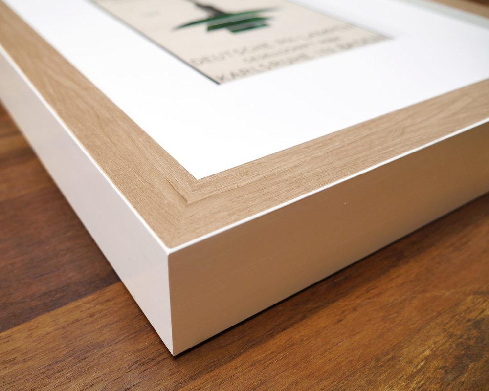 Kubik | Bare Birch White Cube