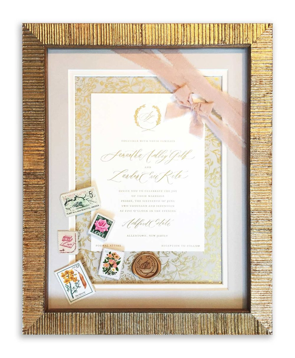 Summer Winner: LORI SLOCUM  of FRAME IT YOURSELF; Fair Haven, NJ
