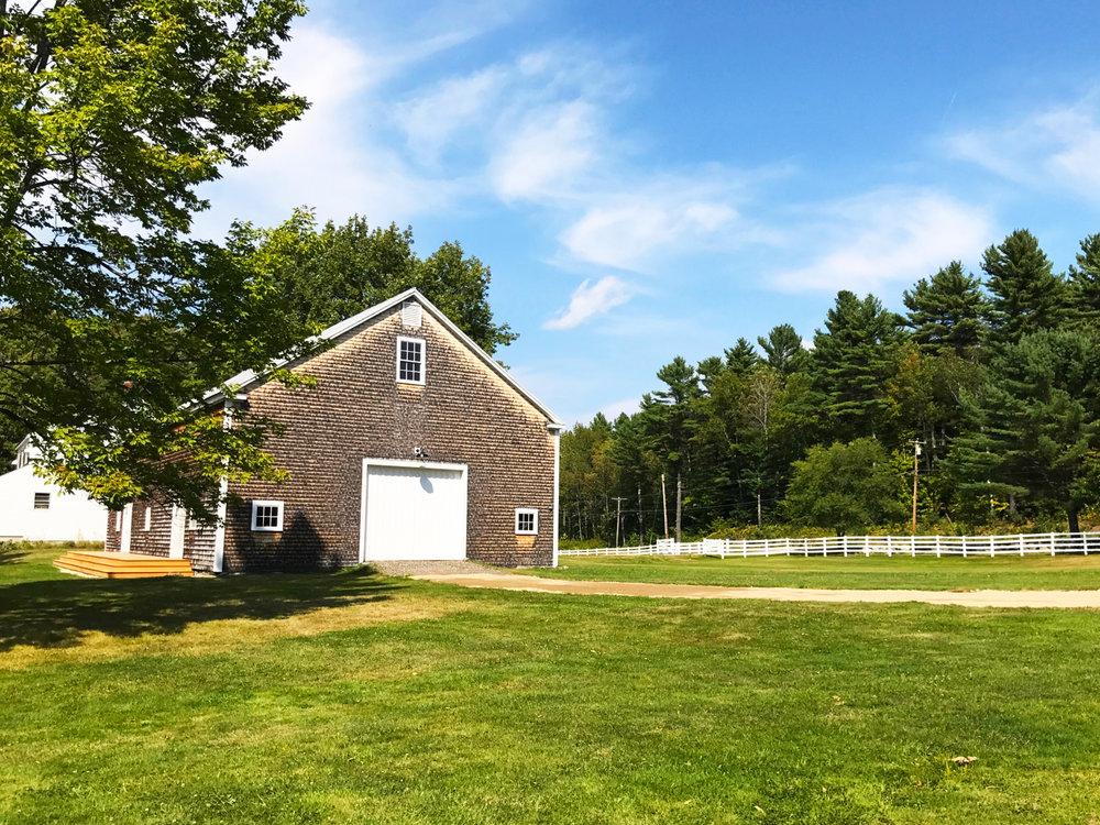 Wedding Barn: Dairy Barn Entry