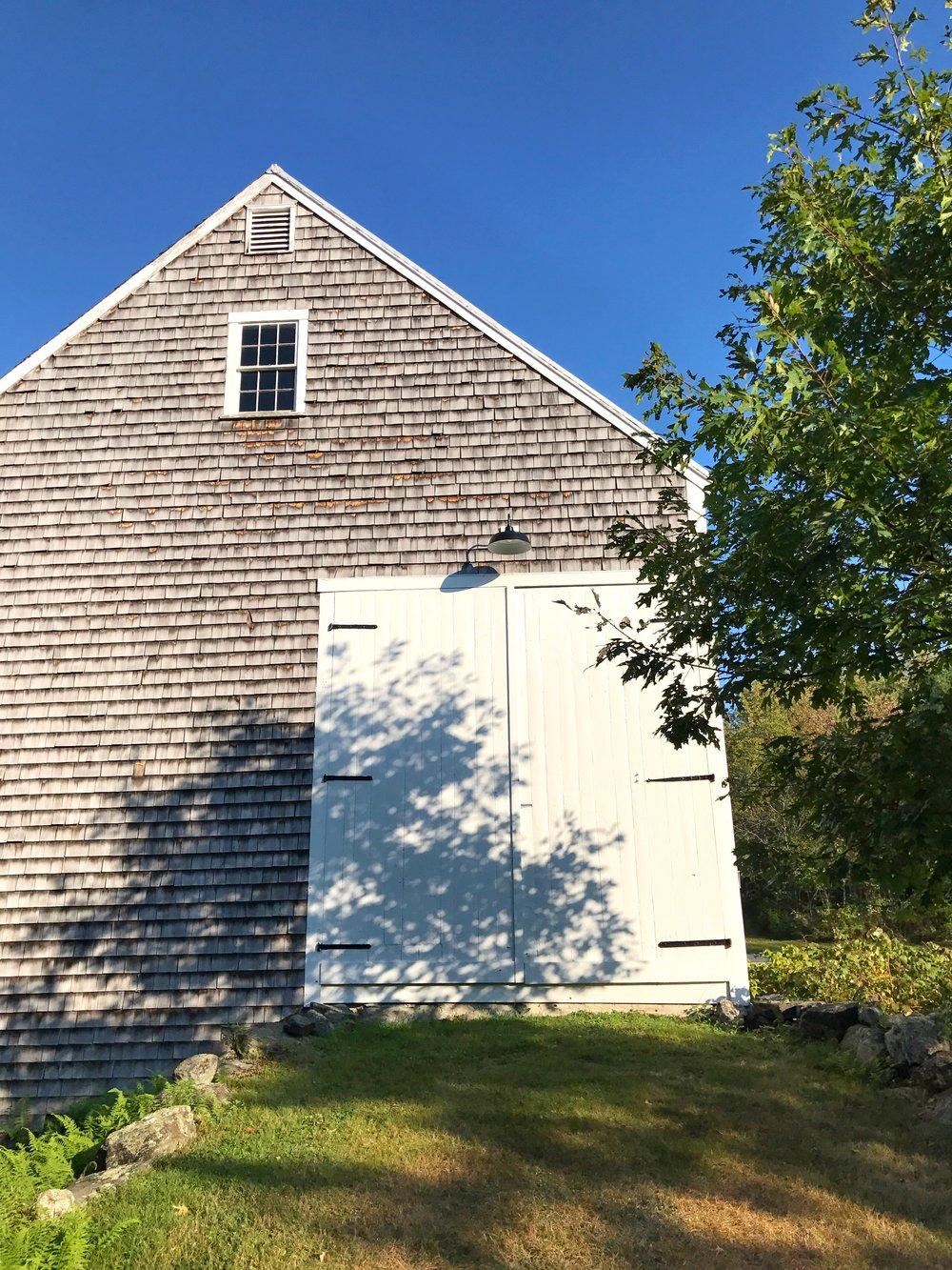 Hay Barn Swinging Doors Closed