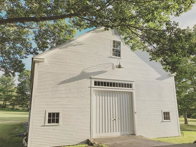"One of my favorite compliments recently was that our ""trees seem to perfectly frame the barns and property"" - I loved hearing that, because I often think that to myself while walking around! . . . . #cunninghamfarmmaine #barnwedding #barn #barndoor #landscapephotography #igersnewengland #venuehire #venuehunting #venuestyling #venues #weddingvenue #estatewedding #countryside #countrywedding #weddingday #weddinginspo #weddinginspiration #maine #ourhome #usa #weddingplanning #farmwedding #mainewedding #weddinglife #planning #planningawedding #iphonephotography #love #gettingmarried"