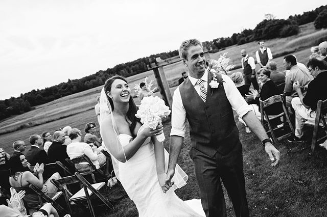 Cunningham Farm celebrates a very special anniversary today - our own! 💕 . . Moment captured by the lovely @bethanyanddan . . #cunninghamfarmmaine #circa2014 #misstomrs #hikingbuddy #bestdayever #anniversary #weddingday #weddingphotography #moments #lovehim #love #weddinginspiration #aftertheaisle #celebrate #weddingplanning #estatewedding #privateestate #privateestatewedding #married #partnerincrime #loveyou #life #nowletsparty #blackandwhitephotography #partnerinlife #doitallagain #mainebride #mainewedding