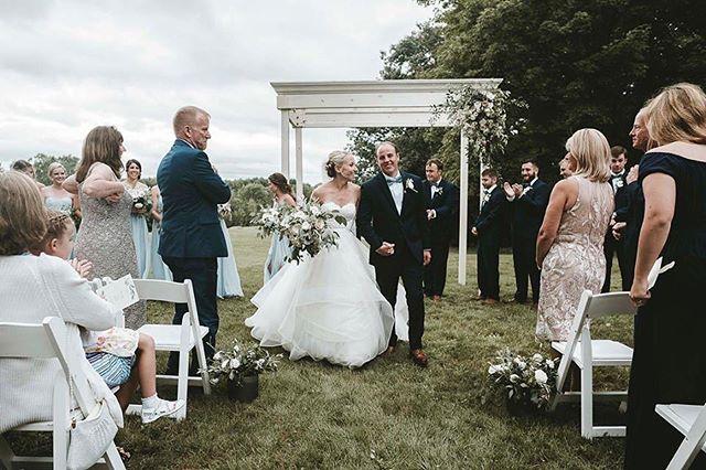 Wrapping up a beautiful weekend celebrating Kelly & Ted - photo by @laurynsophia . . . . #cunninghamfarmmaine #mainebride #mainewedding #estatewedding #barnwedding #farmwedding #countrywedding #newenglandwedding #weddingday #weddingvenue #weddinginspo #weddingphoto #weddinginspiration #tyingtheknot #ceremony #ceremonydecor #mrandmrs #misstomrs #husbandandwife #couplegoals❤ #weddingattire #florals #theknot #marthastewartweddings #bride  #themainebride #theknotrealweddings #bridesrealwedding #marthaweddings