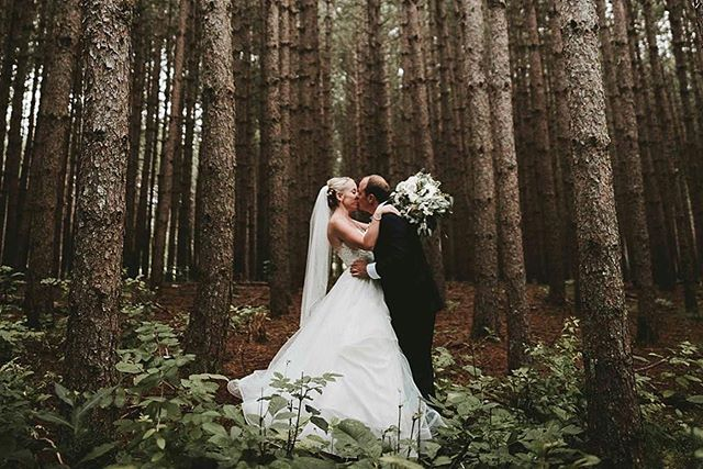 First married kisses 😘 I can't wait for everyone to see how they got to our tree farm 🤔. . Photo: @laurynsophia . . . #cunninghamfarmmaine #marryyourbestfriend #marryinmaine #outdoorwedding #weddingphotography #couplephoto #estatewedding #farmwedding #countrywedding #barnwedding #weddingvenue #mainewoods #mainewedding #themainebride #marthastewartweddings #theknotrealweddings #brideandgroom #bride #realwedding #fairytale #weddingattire #theknotweddings #weddinggoals #junebugweddings #weddingday #weddinginspiration #weddingplanning