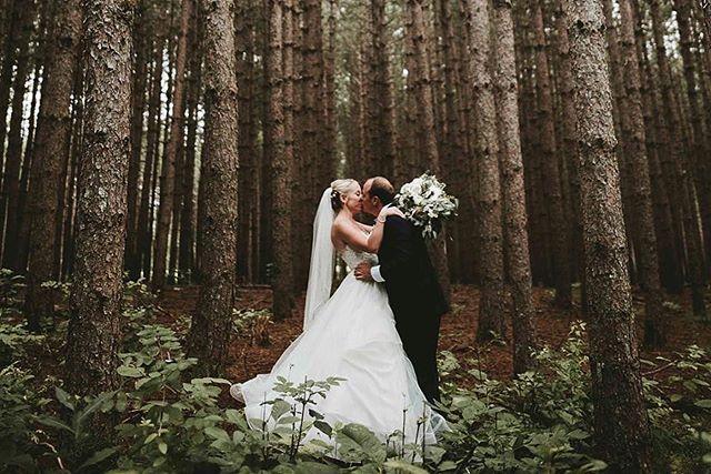 First married kisses 😘 I can't wait for everyone to see how they got to our tree farm 🤔. . Photo: @laurynsophia . . . #cunninghamfarmmaine #marryyourbestfriend #marryinmaine #outdoorwedding #weddingphotography #couplephoto #estatewedding #farmwedding #countrywedding #barnwedding #weddingvenue #mainewoods #mainewedding #themainebride #marthastewartweddings #theknotrealweddings #brideandgroom #bride #realwedding #fairytale #weddingattire #theknotweddings #weddinggoals #junebugweddings #weddingday #weddinginspiration #weddingplanning
