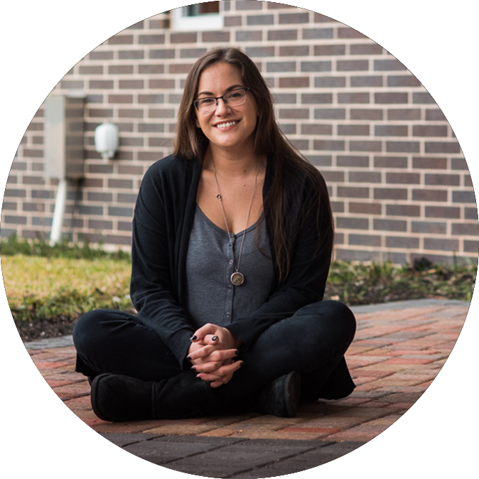 SARA MURPHY|Kid's Ministry Director - Loves music, art, and perfectly timed punsFavorite Bible Verse:(5) Trust the Lord completely, and don't depend on your own knowledge. (6) With every step you take, think about what he wants, and he will help you go the right way.