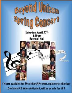 BU Spring Concert 2013