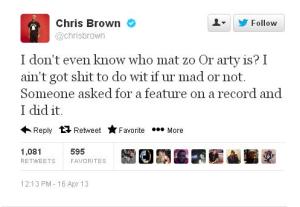 CBrown twitter