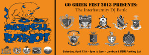 Go Greek Fest Advertisement