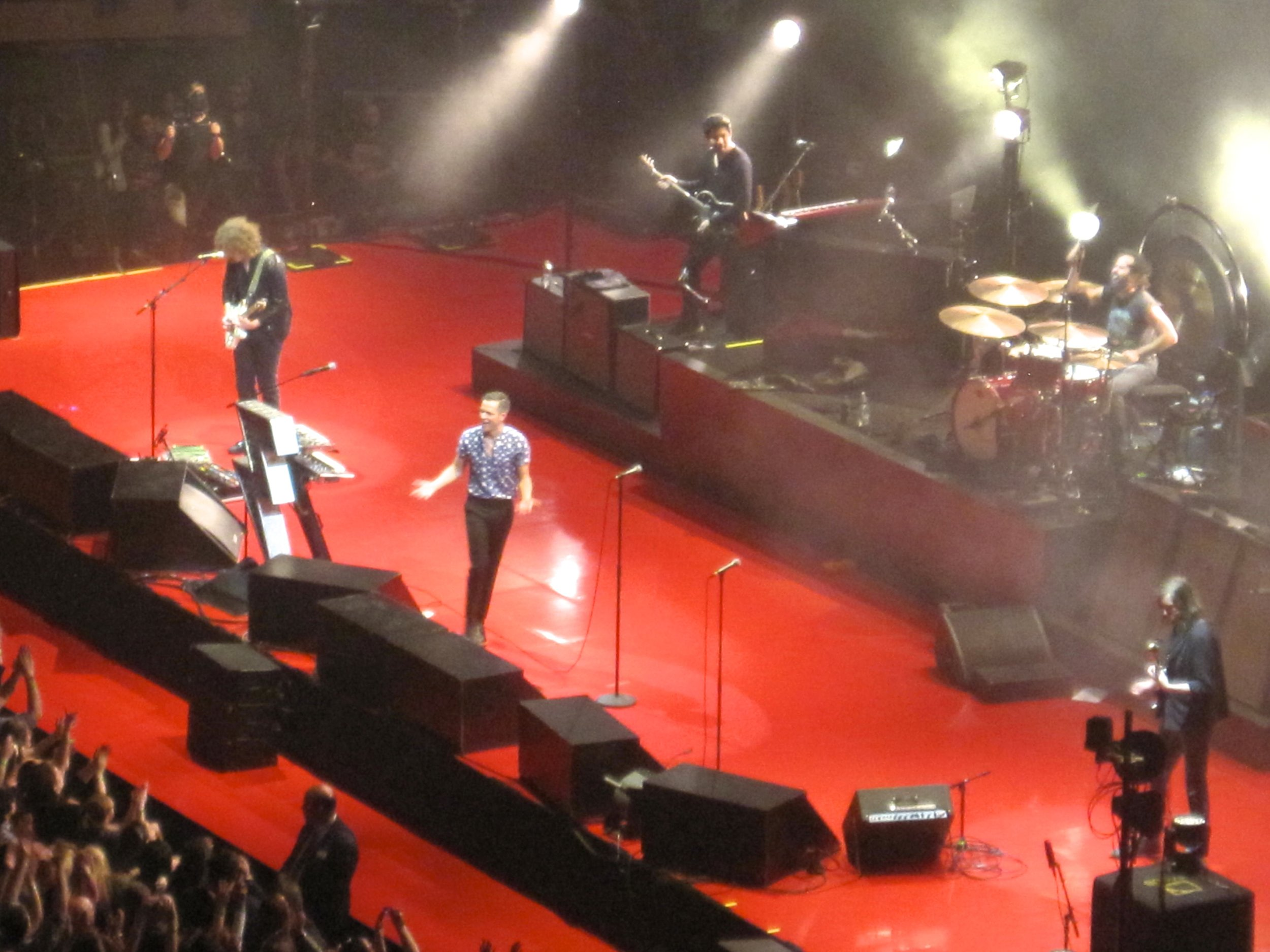 Concert review the killers kill it at madison square garden campus vinyl The killers madison square garden