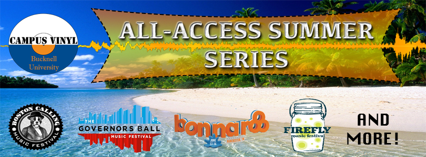 All-Access Summer Series Poster