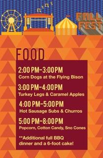 Fall Fest Food
