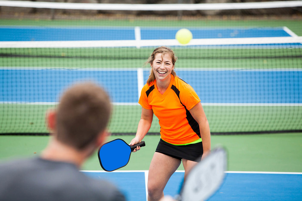 Pickleball scoring information