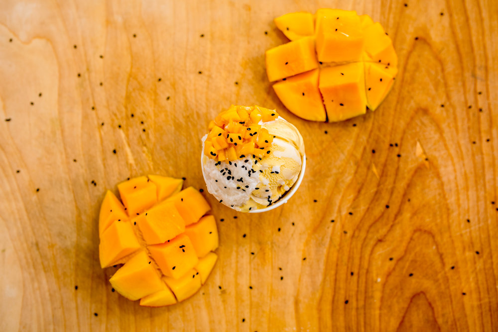 Mango (Mango Sticky Rice)